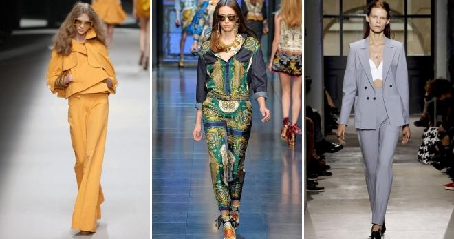 Женские брючные костюмы 2017 – лучшие модные комплекты на все случаи жизни