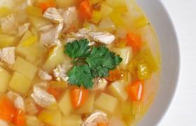 Овощной суп с луком-пореем – пошаговый фоторецепт