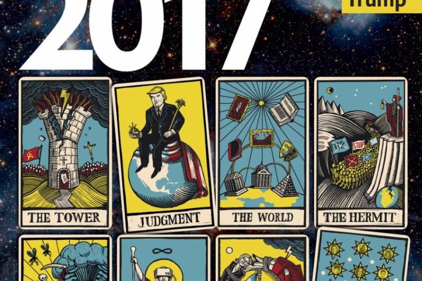 Расшифровка обложки The Economist: умрут религии, появится Третье Солнце, вернутся Рюриковичи и придёт мессия