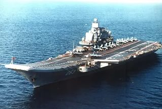 Передышка «Адмирала Кузнецова»