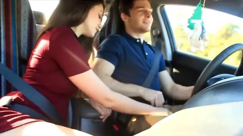 Секс в авто даче