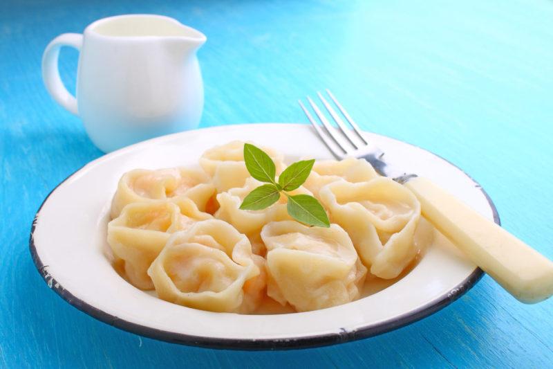 Изображение рецепта Пельмени с соевым мясом