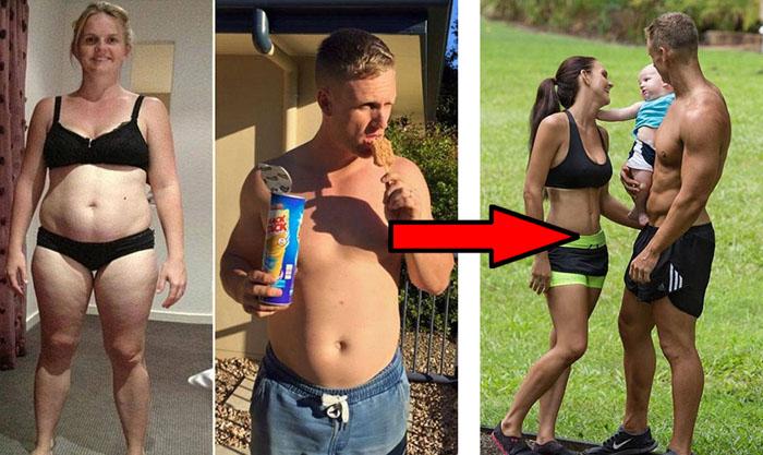 Семья, которая показала как нужно худеть
