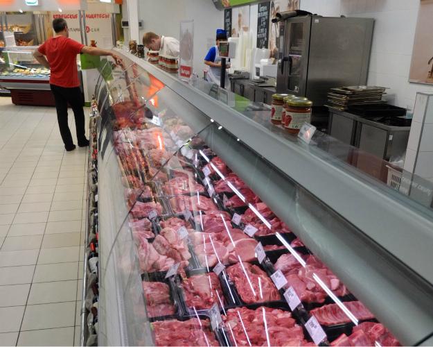 Россия обеспечила себя мясом на 89%