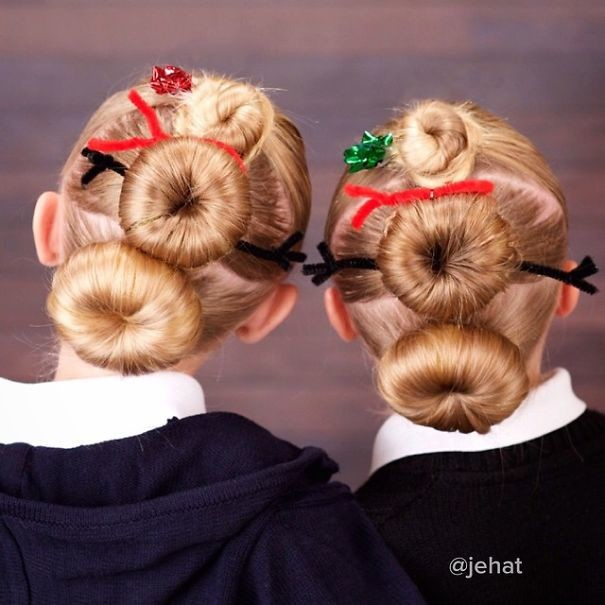 40. Снеговики волосы, праздник, прическа, рождество
