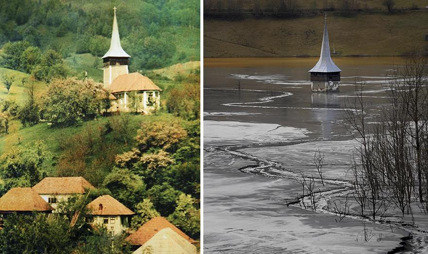 Румынская деревня Джамана тонет в озере промышленных отходов