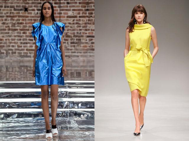 Повседневные платья сезонная весна-лето 2017 насыщенных цветов
