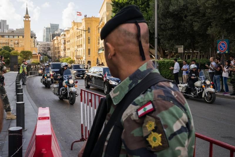 Вашингтон поставит в Ливан новую партию вооружений