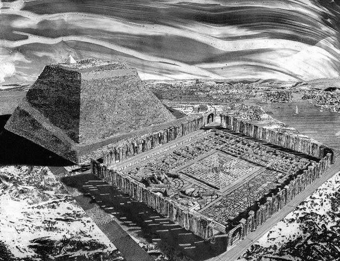 Египетский лабиринт хранит тайны древних цивилизаций.  Загадочные древние лабиринты (2 статьи)