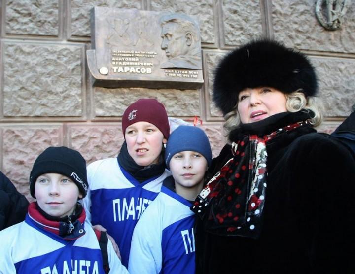 Лёд и пламень: Татьяна Тарасова отмечает юбилей