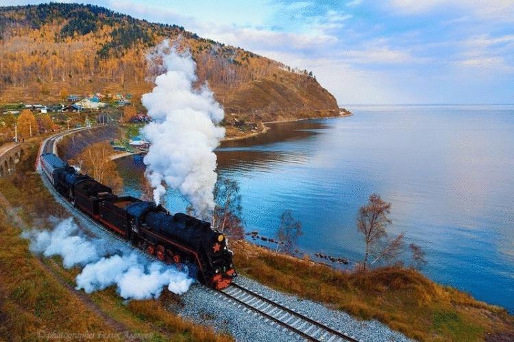 Избранные пейзажи Кругобайкальской железной дороги