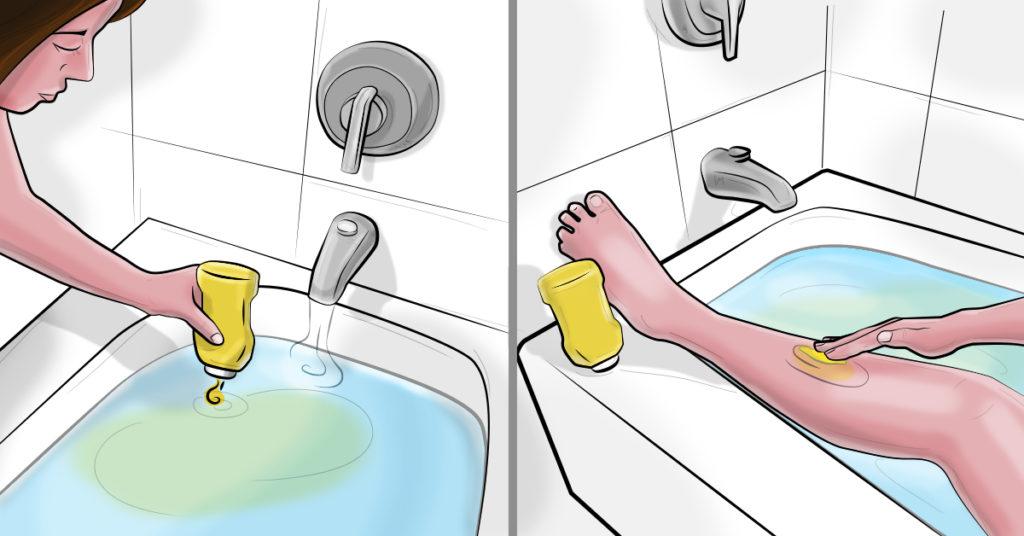 Она добавила горчицу в ванную, а потом намазала ею тело... Не знала, что это дает такой эффект!