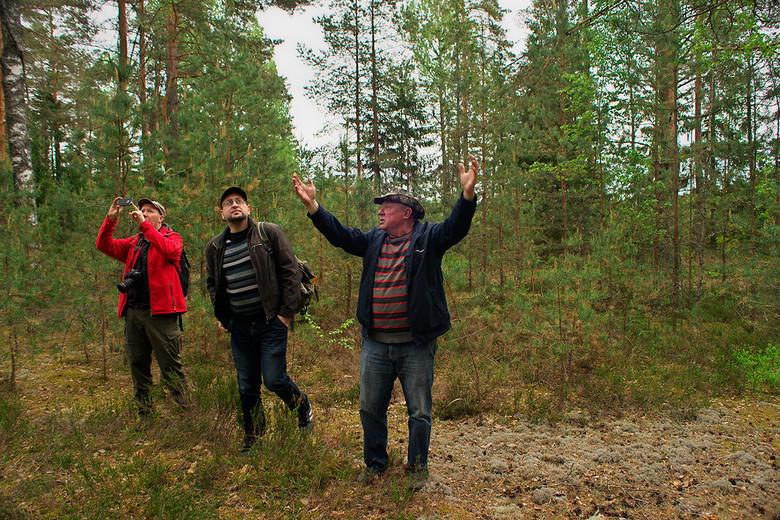Йети или леший: Странное существо бродит по берегам озера Костовье в Белоруссии