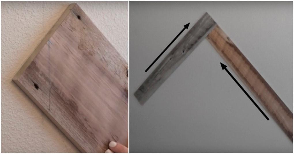 Шикарный декор стены из дерева за 4 часа
