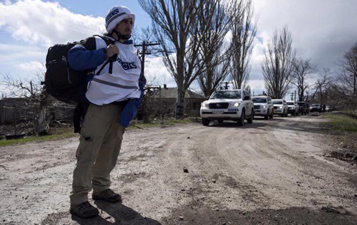 Украинские военные не пускают патруль ОБСЕ в Широкино
