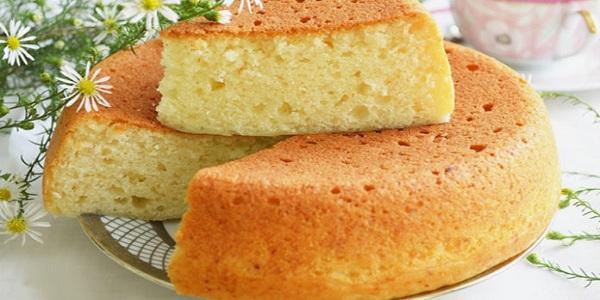 Бисквит на кефире без яиц в мультиварке рецепты