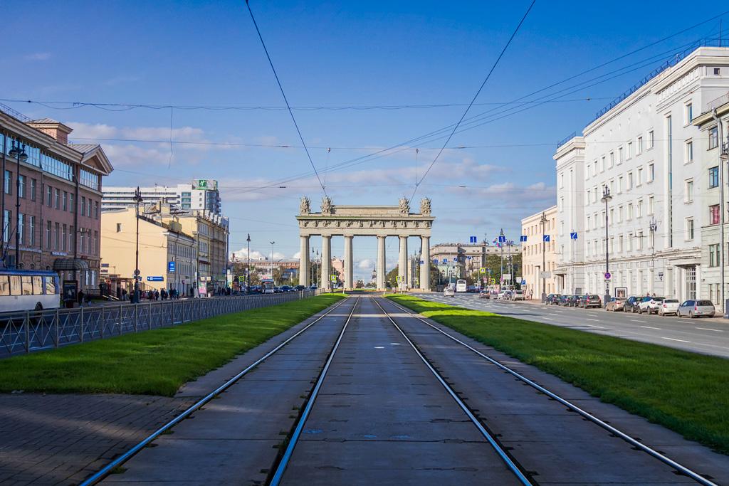 Петербург: история Московских ворот