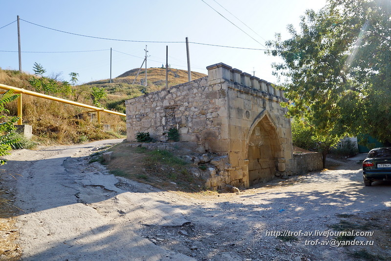 Старинные фонтаны Феодосии