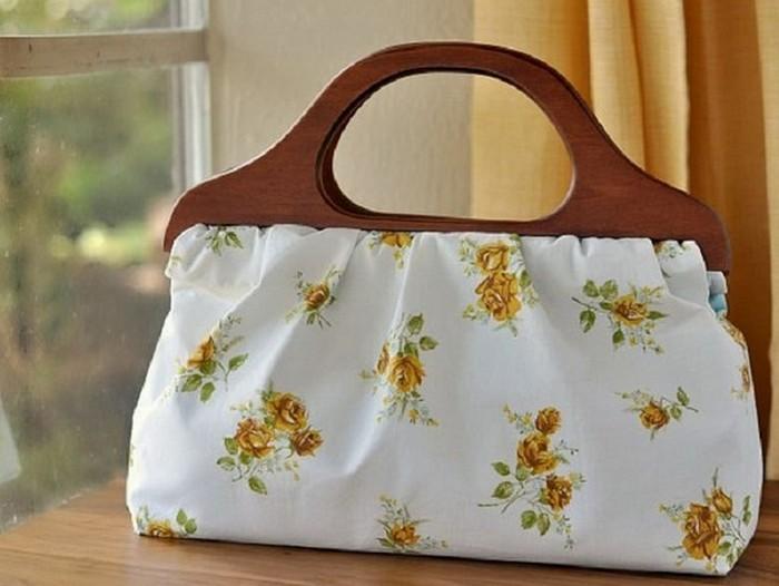 Летняя сумочка из наволочки
