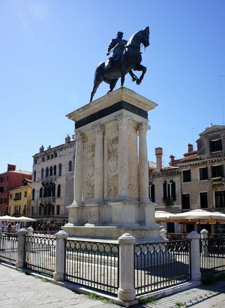 Памятник в Венеции