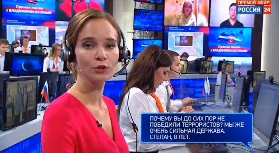 Оч. неудобные вопросы, прорвавшиеся в прямую линию с Путиным