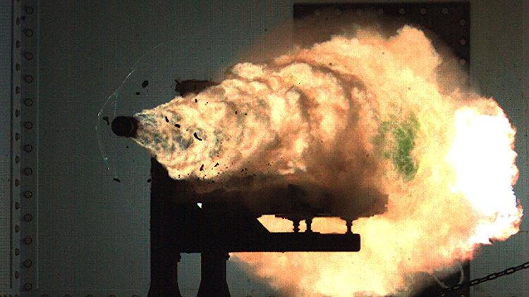 Российские ученые выстрелили из рельсотрона : скорость пули 3 км/сек: видео