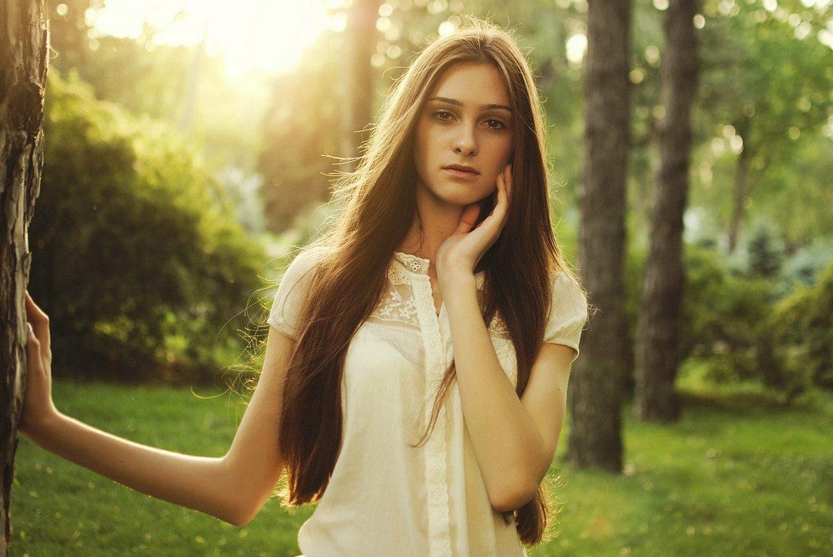 Когда фотограф молодец : Красивые девушки