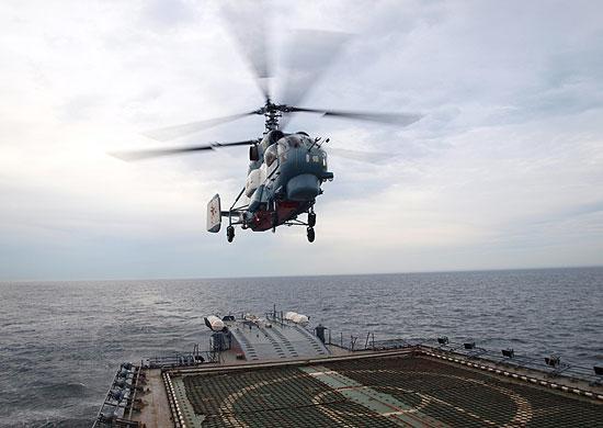 ВМФ получил первый модернизированный вертолет Ка-27