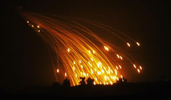 Коалиция США ударила по Ракке снарядами с белым фосфором