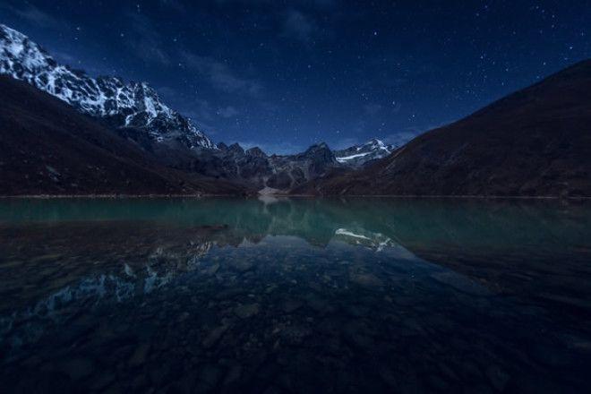Зеркальное отражение – Гималаи, Непал