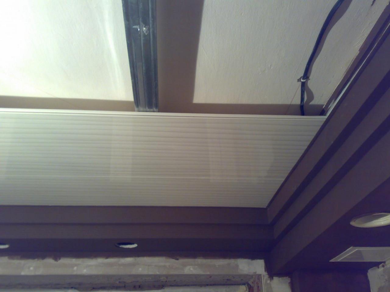 Как сделать пластиковые панели потолки на кухне