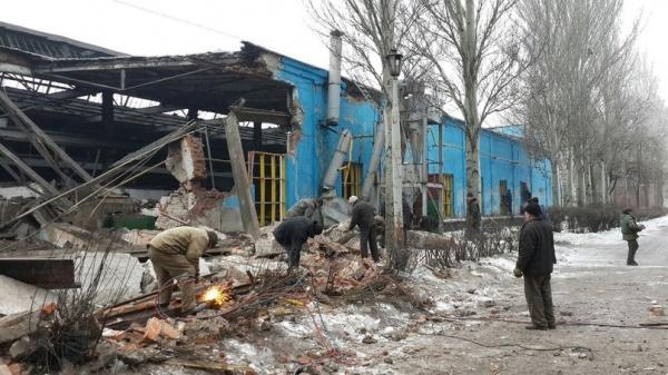 ВСУ обстреляли районы Донецка исела наюге ДНР