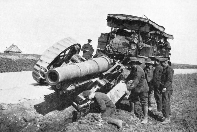 «Молот полевой войны» - английская 8-дюймовая гаубица Mk VI – VIII