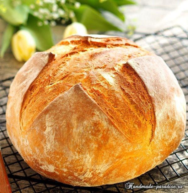 Вкусный хлеб в духовке рецепт с фото