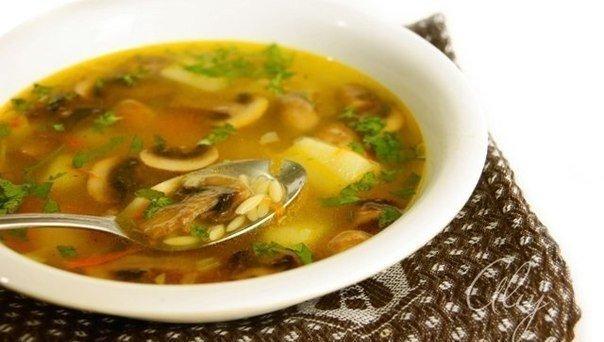 Вкуснейший грибной суп