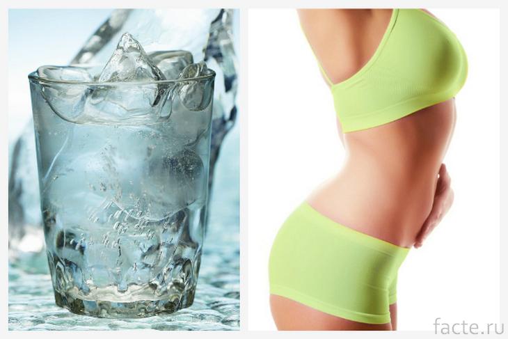 Помогает ли питье холодной воды сбросить вес?