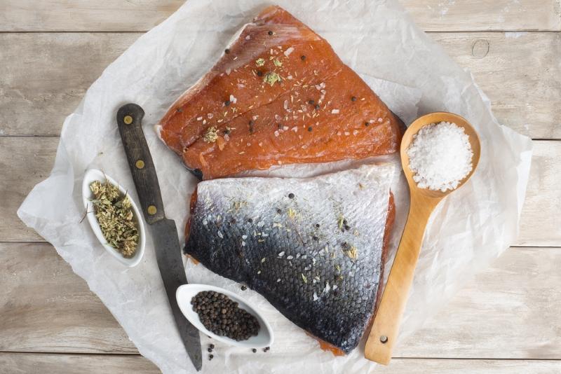 как правильно готовить рыбу в соли