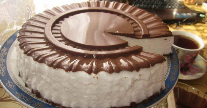 Всеми любимый торт «Птичье молоко». Люблю его с самого детства!