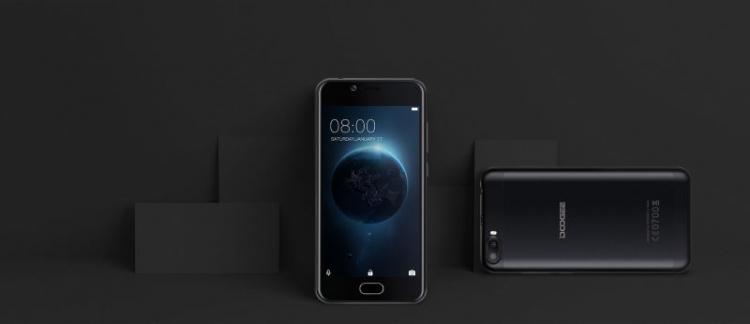 Doogee Shoot 2 — смартфон по доступной цене со сканером отпечатков пальцев