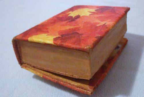 шкатулка из книги своими руками мастер