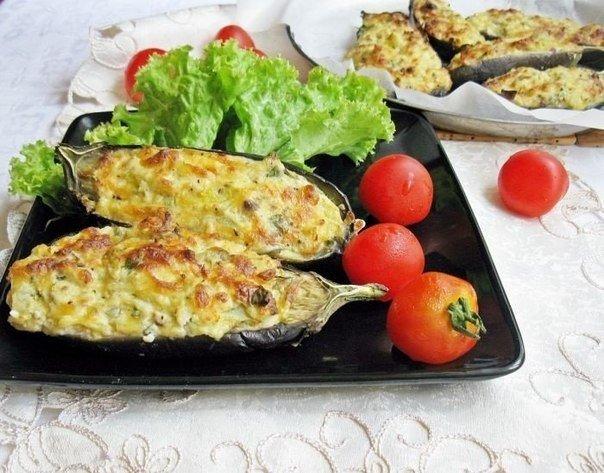 """Посидим, поедим...Баклажаны """"Кучерикас"""" с сырно-творожной начинкой"""