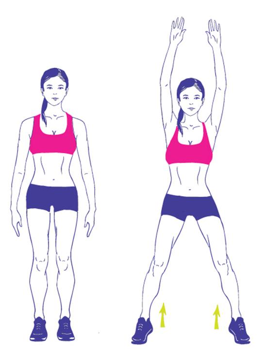 6-недельный план тренировок, который поможет убрать жир на животе
