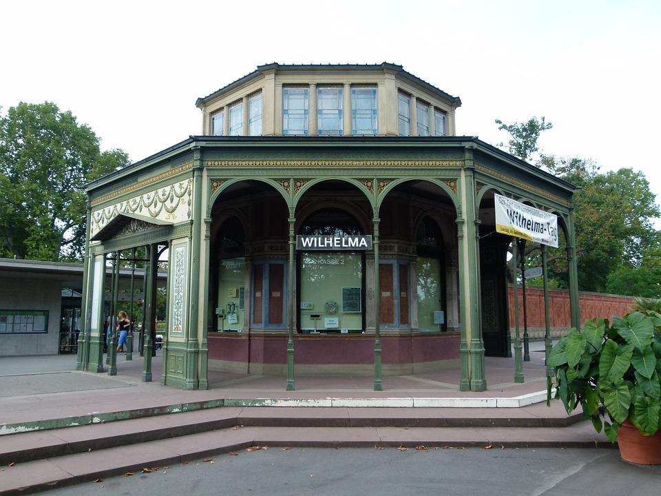 """Штутгартский зоопарк """"Вильгельма"""". Аквариум и террариум"""