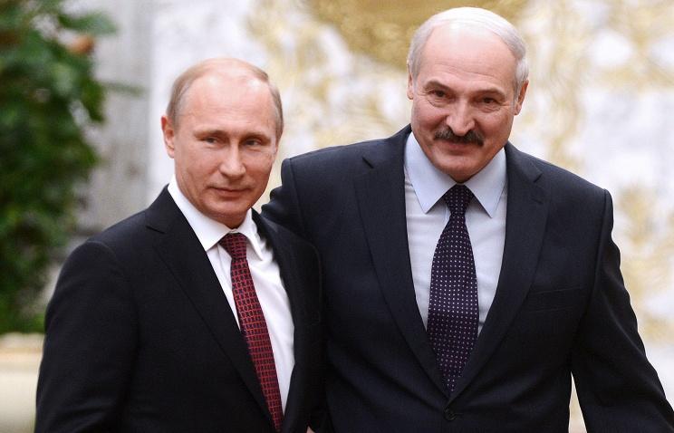 Путин поздравил Лукашенко с Днем независимости