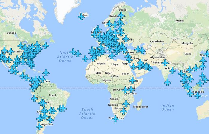 Бесценное сокровище для путешественника: все пароли от Wi-Fi аэропортов мира на одной карте