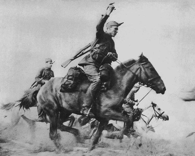"""""""Русские пархатые казаки"""" 1941 г."""