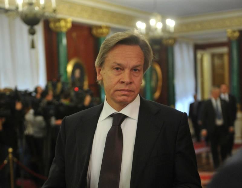 Пушков прокомментировал намерение США ввести новые антироссийские санкции