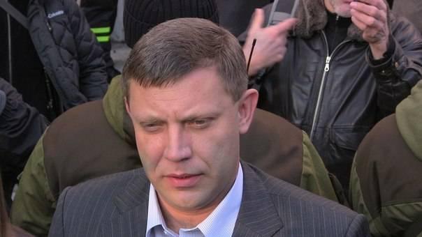 Захарченко рассказал, почему не объединяются ДНР и ЛНР