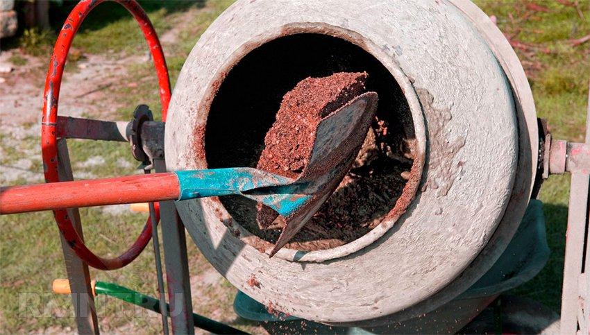 Как сделать бетон в домашних