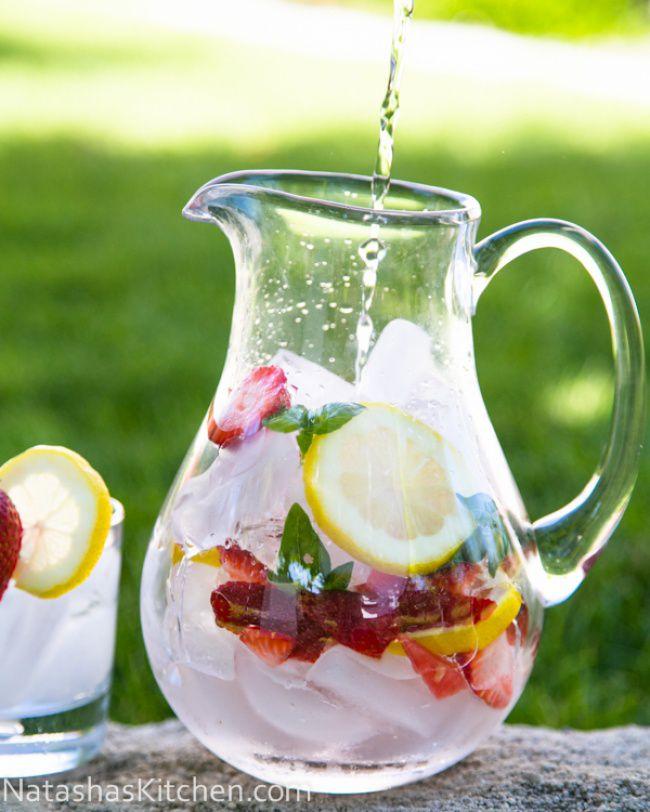 14 полезных напитков, заменяющих вредную газировку